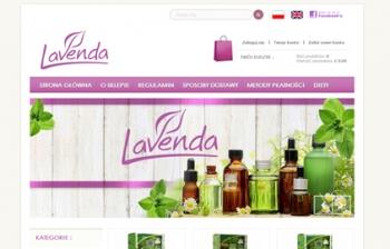 Lavenda shop sklep www w Edenburgu