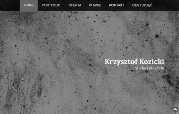 Fotograf Krzysztof Kozicki