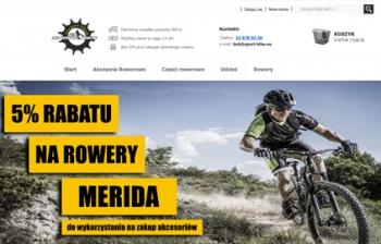 Sklep dla rowerzystów sport Bike